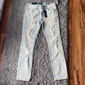 Pacsun light distressed jeans